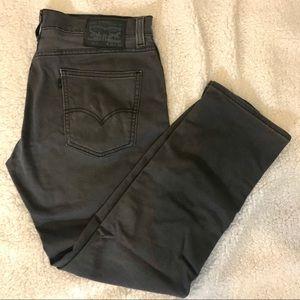 Levi's 511 Grey 34x30 jeans